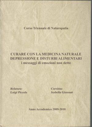 Anno Accademico 2009/2010: Depressione e Disturbi Alimentari