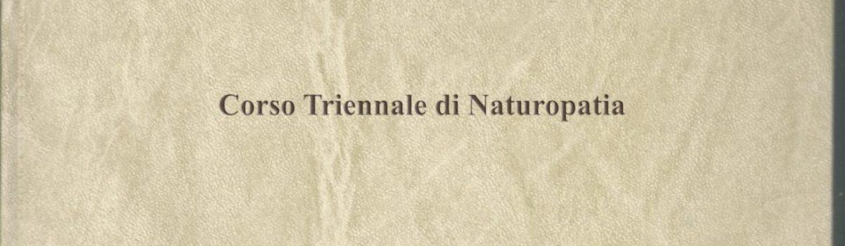 Anno Accademico 2013/2014: il Naturopata Olistico