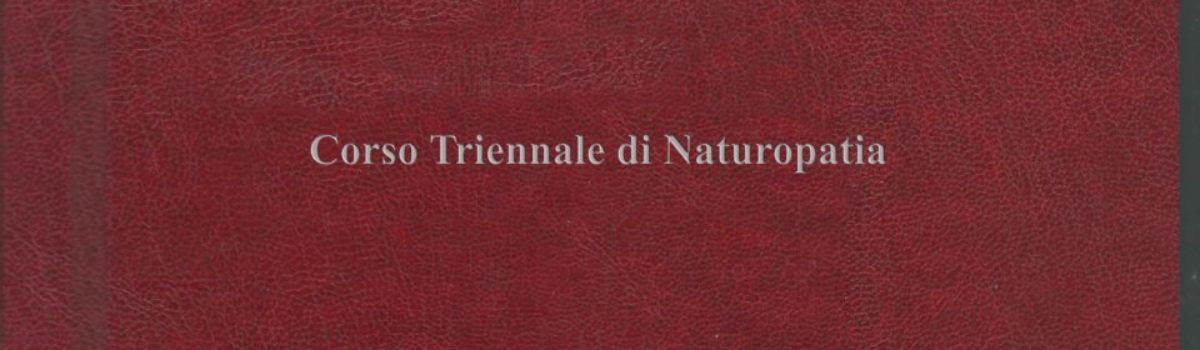 Anno Accademico 2010/2011: La valutazione multidimensionale della persona in Naturopatia